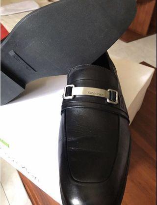 🚚 BN Condition-Calvin Klein Mens Black Shoe Size 7.5US