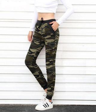 Camouflage soft trouser