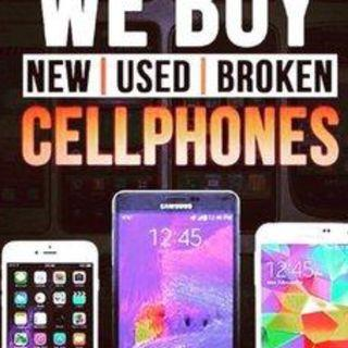 WANTED!!! All models of Apple iPhones and Android Phones.