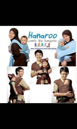 Gendongan bayi hanaroo babby wrap