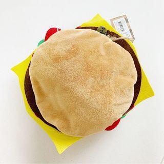 [FLASH SALE] BNWT Typo Hamburger Plush Pencil Case Pouch