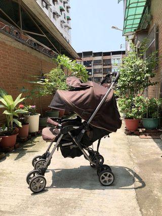 🚚 Combi 咖啡色嬰兒手推車