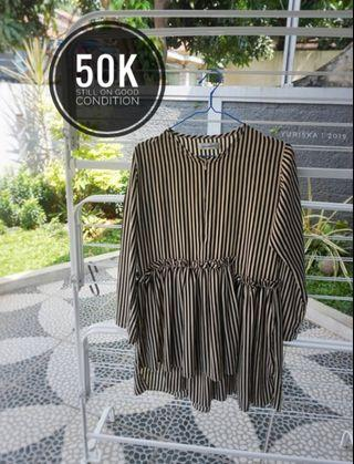 Strip blouse by Mayoutfit