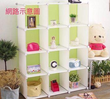 #半價居家拍賣會 塑膠組合收納櫃。可單買。板片下單區