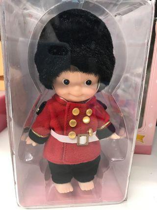 Kewpie mini size England Soldier 15 cm