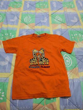 Boy Orange Shirt