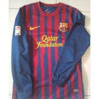 Jersey Home Fc Barcelona Season 11/12 Authentic
