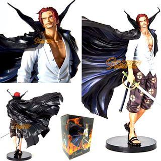 Anime One Piece Shanks PVC Action Figure Collectible Model 18cm