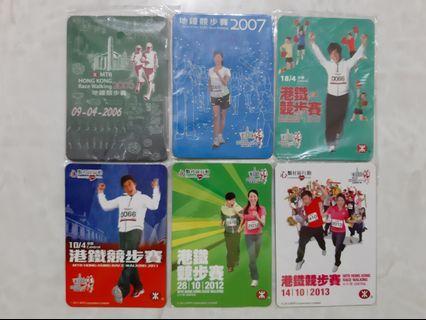 MTR 競步賽磁石貼 (2006 ~ 2013)