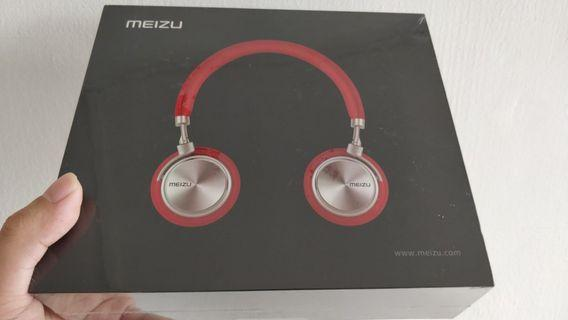 Brand new sealed Meizu HD50 HIFI Aluminium Alloy Shell Superfine Fibre Diaphragm Headset limited red version URP SGD80