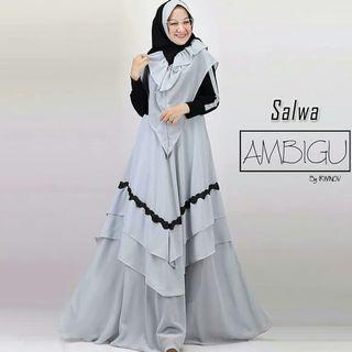 Salwa syari dress
