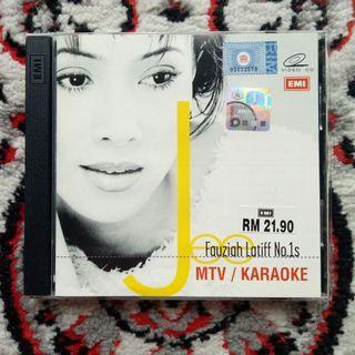 Fauziah Latiff - No.1s (1st Press VCD) [2000]