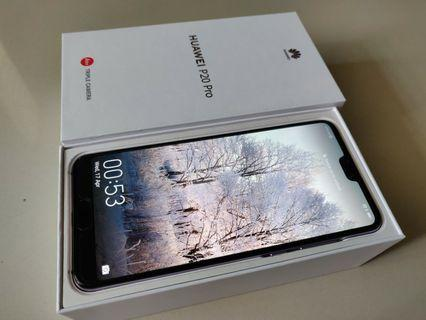 Huawei P20 Professional Warranty 2 month's Complete Box