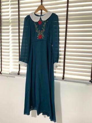 🚚 Vintage Long Dress