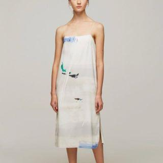 Our second nature osn dune slip dress