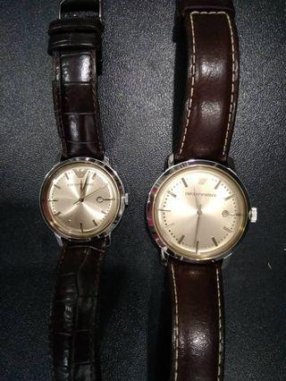 Emporio Armani Couple Watch