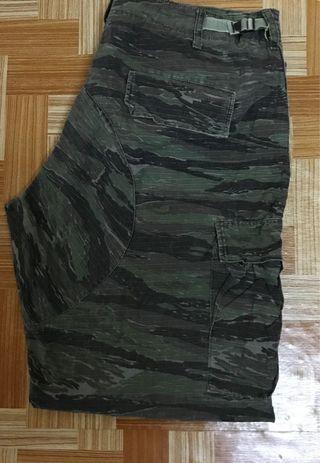 Tiger stripe pants