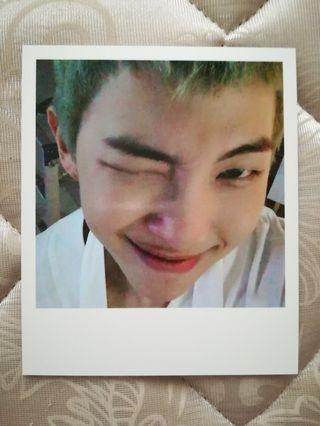 RM Photocard (WINGS ALBUM)