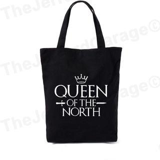 Queen Of The North Tote Bag (Fan Art)