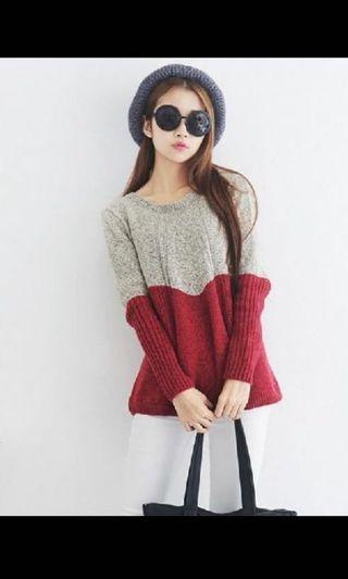 * BRAND NEW Knitted Wear Grey Navy