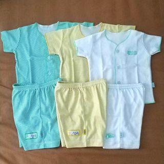 Baju Newborn lengan pendek