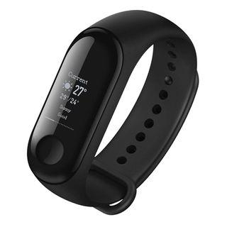 "Xiaomi Mi Band 3 Touch Screen OLED Smart Wristband 0.78"" Waterproof (BLACK) - Xiao Mi MiBand 3 Smartwatch Heart Rate Tracker Smart Wear"