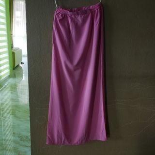 Pink Long Skirt, perfect for Persatuan Puteri Islam
