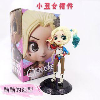 Harley Quinn Q Posket Characters Q Version Figure Collectible Model Toy 15.5cm