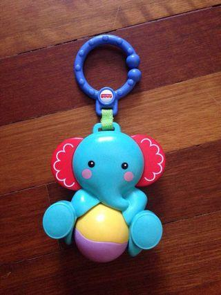 Fisher Price elephant rattle