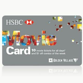 🚚 GV HSBC Movie Card