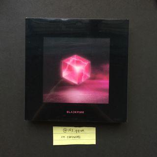 [ wts only ] blackpink square up album black ver.
