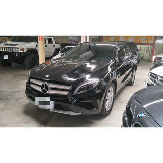 【FB搜尋桃園阿承】賓士 超人氣GLA180 2015年 1.6 黑色 二手車 中古車