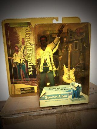 Jimi Hendrix McFarlane Spawn Woodstock Super Stage Figure