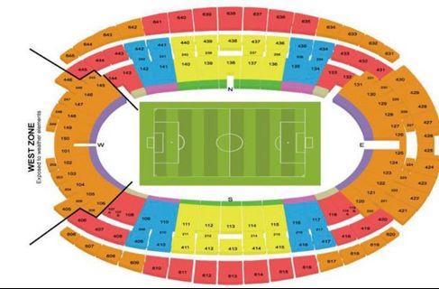 🚚 International Champions Cup Tickets (CAT 1)