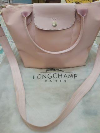 Long champ neo baby pink