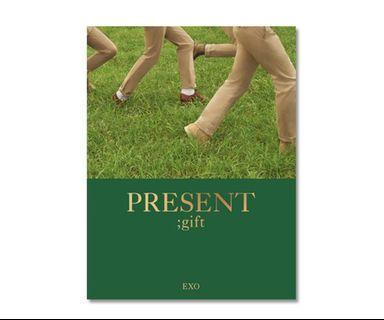 [PO] EXO - PRESENT;gift Photobook
