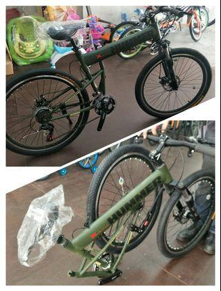 "26"" Hummer folding bike"