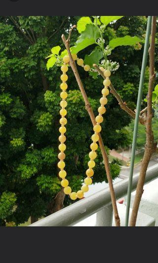 Natural Baltic Amber 23.4g necklace 天然琥珀