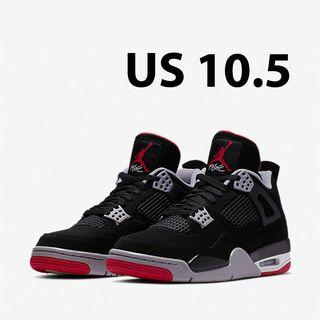 fe080d3de75 Nike Air Jordan 4 Retro Bred - US 10.5 #EndgameYourExcess