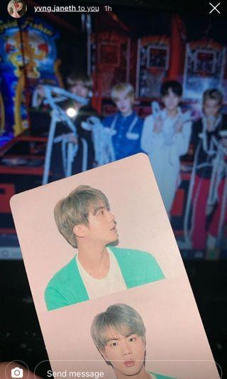 WTT BTS PERSONA: MAP OF THE SOUL MOTS PHOTOCARD PC