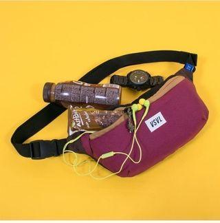 Waist bag Rush Visval maroon