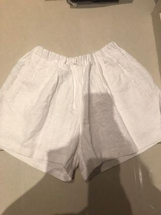 🚚 韓 棉麻短褲 24小時清衣櫃