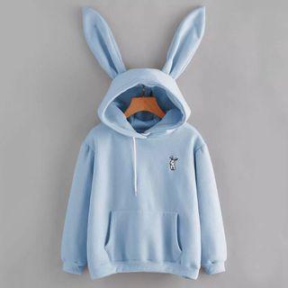 Rabbit Ear Sweatshirt Hoodie