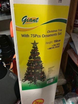 🚚 (USED)Christmas tree 150cm