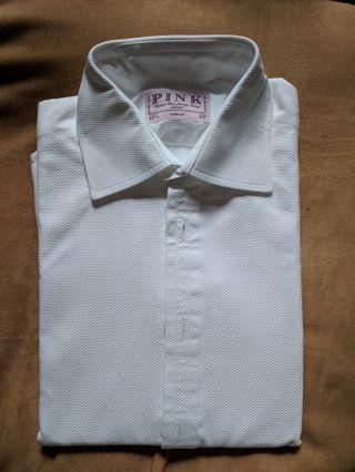PINK white shirt 恤衫