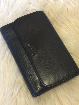 Dompet fossil original auth full leather