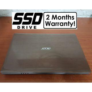 [SSD Quad Core i7 Gen2 Laptop] Acer Aspire 4755G: 8GB RAM! Core i7 Notebook)