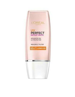 Loreal uv protection perfect instant white