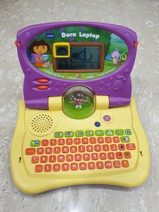🚚 Vtech Dora the Explorer laptop