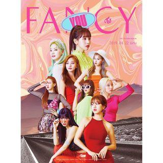 Twice Fancy Album Group Order : include ems + poster